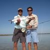 Mike & I Beautiful Sky and with a nice Bonefish 2009